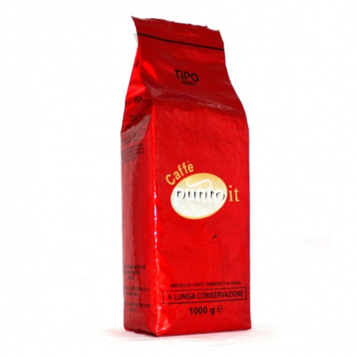 Cafea Punto IT Rosso boabe 1 kg