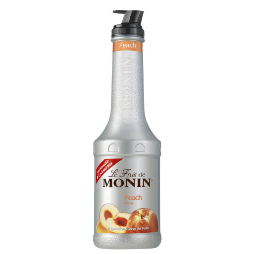Le Fruit de Monin Piure de Piersici 1 L