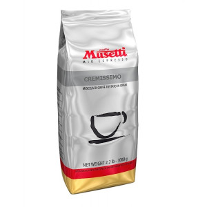 Cafea Musetti Cremissimo boabe 1 kg