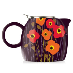 Ceainic Pugg Poppy Fields Tea Forte