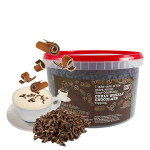 Decor One&Only Curly Whirly - Ciocolata 700 gr