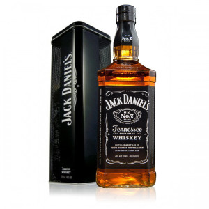 Whisky Jack Daniel`s 0.7 L Tin Box