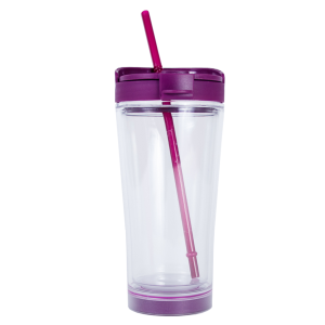 Mighty Mug Ice Purple Clear