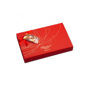 Luxury Red Box cu Praline Belgiene Valentino 225 gr