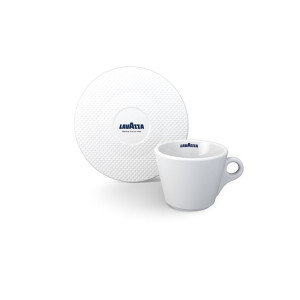 Set Ceasca + Farfurie Cappuccino Premium Collection Lavazza (6 buc)