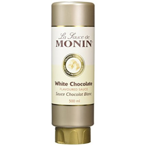 Topping Monin Ciocolata Alba 500 ml