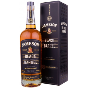 Whisky Jameson Black Barrel 0.7 L Gift Box