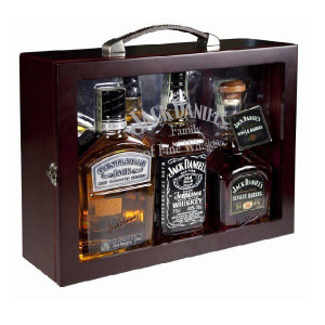 Whisky Fob Carry Case (Jack Daniel`s, Single Barrel, Gentleman Jack)