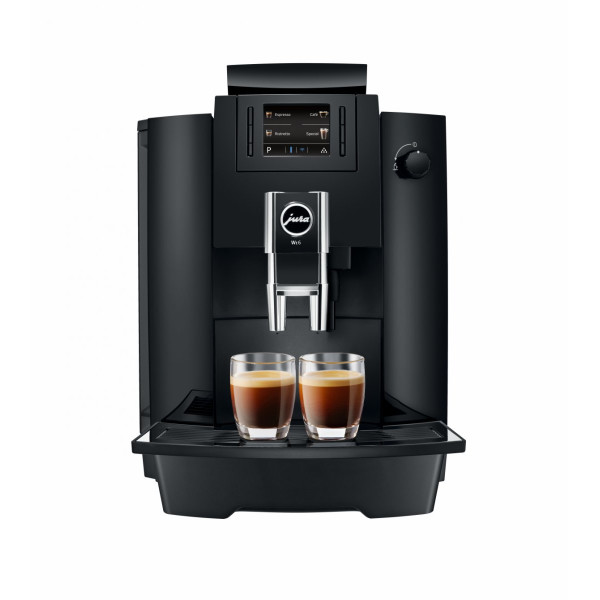 Espressor Automat Jura WE6 Piano Black + Cadou Cafea Chicco d'Oro Tradition boabe (4 x 250 gr)