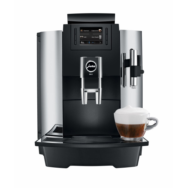 Espressor automat Jura WE8 Chrome + Cadou Cafea Chicco d'Oro Tradition boabe (4 x 250 gr)