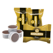 Cafea Covim Epy Gold Arabica 50 capsule (compatibile Lavazza Espresso Point)